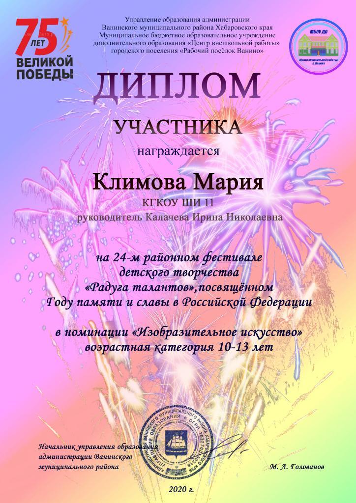 Климова