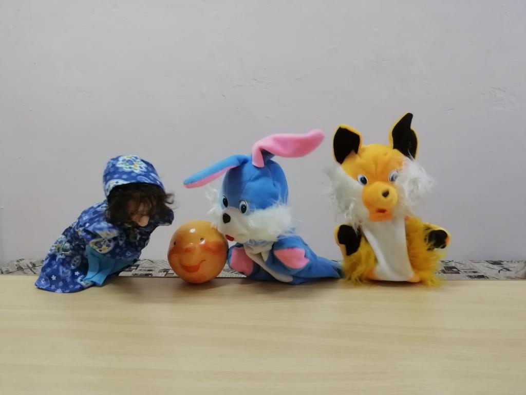 куклы заяц лиса колобок
